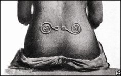 Body art was all the rage in early Australia, as it was in many other parts of the ancient world, and now a new study reports that elaborate and distinctive designs on the skin of indigenous Aussies repeated characters and motifs found on rock art and all sorts of portable objects, ranging from toys to pipes.