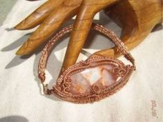 Armband mit Jaspis und Vikinger Band - Bild vergrößern Vikings, Handmade Wire Jewelry, Shops, Bracelets, Leather, Armband, Handarbeit, Jewerly, The Vikings