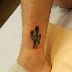 BODKIN TATTOO ARTISTE Cactus by Dominique Bodkin #traditionaltattoo
