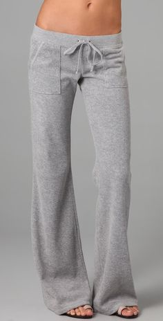 Juicy Couture Heather Terry Snap Pocket Pants