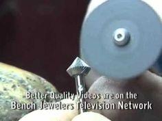 Stonesetting Tools Sharpening Burs - YouTube