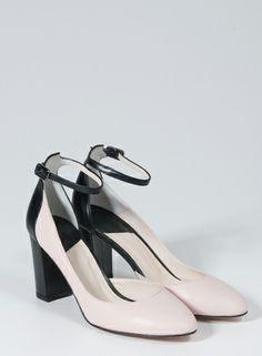 LEI É - Colección Vanguarida - #Zapatos de #Boda #Tacón #Negro #Azul #Rosa…