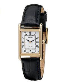 Seiko Tank watch, a great alternative to the Cartier Tank watch. | Modern Brown Girl