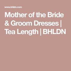 Mother of the Bride & Groom Dresses   Tea Length   BHLDN