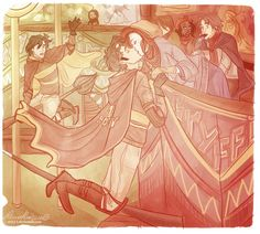 James and lily- the more you look the more you see... Sirius on the other broom, Remus eating chocolate in the stands and Snape in the very back.