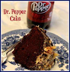 Sweet Tea and Cornbread: Dr. Pepper Cake!