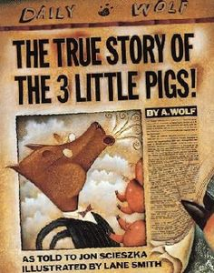 """Sharing a book review on this hilarious story """"The True Story of The 3 Little Pigs!"""" maginative, hilarious and clever are three words which I would use for this title. All of us know the story of the classic tale 'Three Little Pigs' but how many have thought of it from the big bad wolf's perspective?  http://beanienus.blogspot.sg/2013/07/book-review-true-story-of-three-little.html"""