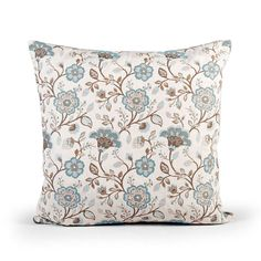Traditional Floral Cushion | Dunelm