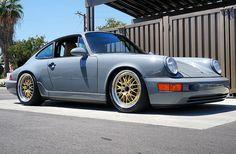 Gray + Gold | Porsche 911