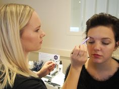 @ Lumene Pop Up Brow Bar in Helsinki, Finland. Brow Bar, Helsinki, Finland, Pop Up, Eyebrows, Bring It On, Beauty, Beautiful, Fashion