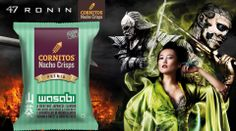 Go Samurai while watching 47 Ronin this weekend, with the CORNITOS! Wasabi flavour.