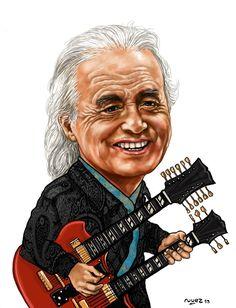 b5d2728d04e9a Mr Jimmy Page Led Zeppelin Art