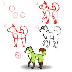 How to draw a Dog Step By Step Easily Ideas) Cartoon Dog Drawing, Chihuahua Drawing, Dog Drawing Simple, Dog Steps, 3d Drawings, Dog Portraits, Art Classroom, Art Sketchbook, Drawing Tutorials