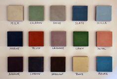 cement tile colour palette - Google'da Ara