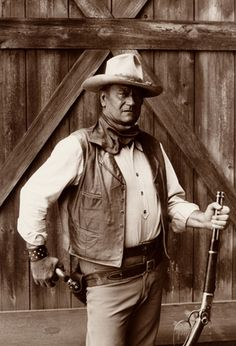 John Wayne - The Cowboys | 1972                  Love John Wayne