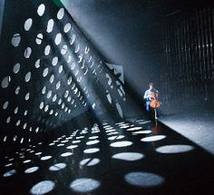 Motor way tunnel lighting effects - Natalie Parsons Theatre Design | Alternative Routes