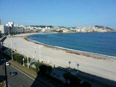 Playa Riazor-A Coruña...