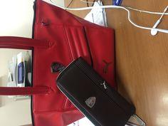 Puma handbag and purse. Cos I'm just a fan