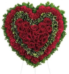 Funeral flowers and sympathy flowers with same day flower delivery online Funeral Floral Arrangements, Flower Arrangements, Flower Bouquet Delivery, Enchanted Florist, Funeral Tributes, Red Carnation, Online Flower Delivery, Sympathy Flowers, Send Flowers