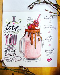 Valentines Day i Love you Special Person, Special Day, Art Illustrations, Illustration Art, Days Left Until, Food Drawing, Tinkerbell, Inspire Me, Cool Art