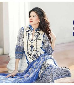 Rangrasiya Embroidered Lawn Suits Vol.3 D-1043A