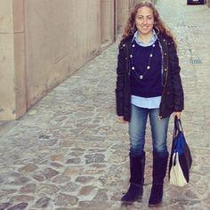 Ayer me apetecía mucho un look completamente azul  #ideassoneventos #imagenpersonal #imagen #moda #ropa #looks #vestir #wearingtoday #hoyllevo #fashion #outfit #ootd #style #tendencias #fashionblogger #personalshopper #blogger #me #lookoftheday #streetstyle #outfitofday #blogsdemoda #instafashion #instastyle #currentlywearing #clothes #casuallook #totalblue #blue #azul