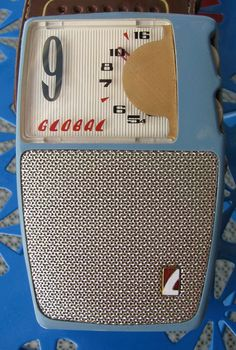 Beautiful Working Global 9 Transistor Radio Model GR 900 with Case | eBay