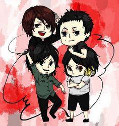 Tomoya (One Ok Rock), Toru (One Ok Rock), Taka (One Ok Rock), Ryota (One Ok Rock)