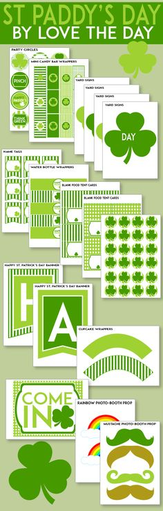 FREE St. Patrick's Day Printables by Love The Day