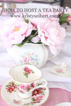 How to Host a Tea Party- Starfish Cottage www.starfishcottageblog.com