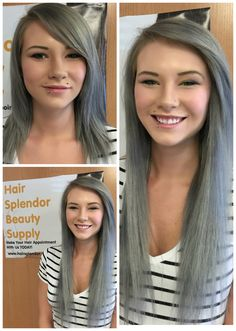 Want a new look pronto? Tape-in Extensions are a great option. Purchased & custom colored by client. We installed them 😀 Before After Hair, Tape In Extensions, Beauty Supply, New Look, Hair Beauty, Color, Colour, Cute Hair