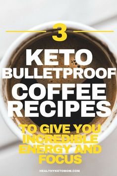 Are you struggling with feeling empty and low on energy while following a Ketogenic diet? You should give keto bulletproof coffee a try! It will literally give you energy all day long and accelerate your weight loss efforts. These easy and quick recipes are fast to make in the morning and are extremely low carb. Bulletproof coffee with heavy cream, coconut oil, and grass fed butter. #bulletproofcoffee #keto #ketocoffee #ketodrinks #lowcarb #coffee