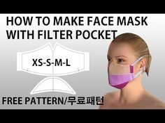 how to make a face mask-DIY mask-Criando uma máscara-Utwórz maskę-면 마스크 만들기-pt 6 Mouth Mask Fashion, Fashion Mask, Diy Mask, Diy Face Mask, Sewing Tutorials, Sewing Patterns, Breathing Mask, Free Pattern Download, Mask Template