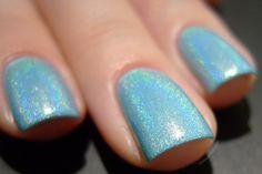 Too Fancy Lacquer Lake Como #blue polish