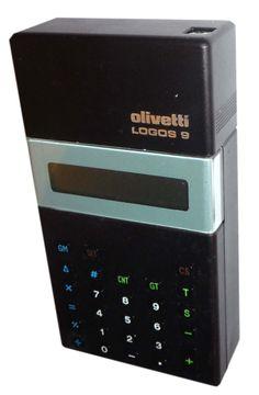Olivetti Logos 9 printing calculator