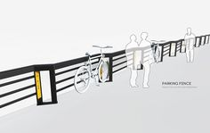 Parking Fence on Behance