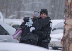 警察老公公 那一天聖誕老公公穿的是警察制服