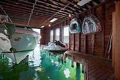 Elegant Inside The Boat House. Images