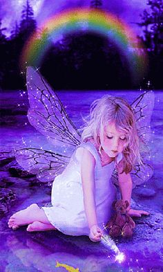 It's 6 years since you got your wings and went to FairyLand my sweet darling Angel Vylette Moon