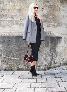 Styling Tipps: Wie kombiniere ich einen Look mit einem kariertem Blazer für den Herbst. Auf meinem Fashion Blog gebe ich Styling/ Trend Tipps wie ich als Modeblogger Trends umsetze.