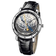 #UlysseNardin Trilogy Set Limited Edition Platinum #Watch