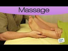 Massage du pied et de la cheville