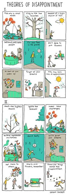 Theories of #Disappointment | INCIDENTAL COMICS | Words and Pictures by Grant Snider