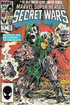 Marvel Super Heroes Secret Wars #10 (of 12)