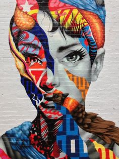 Brooklyn-based Tristan Eaton recently created this eye-catching mural, entitled Audrey Hepburn, along the streets of Little Italy in New York City. The American artist and toymaker was just one of the many talented people to participate in the L.I.S.A. (Little Italy Street Art) Project, an initiative that brings together a diverse group of street artists to create Manhattan's only mural district near historic Mulberry Street
