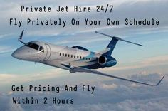 Fly Privately On Your Own Schedule. Get Pricing & Fly Within 2 Hours.