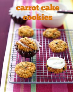Put a twist on the Easter dessert by turning them into delectable carrot cake cookies. Reminiscent of whoopie pies, these light and chewy rounds are sandwiched together with a slathering of cream cheese frosting.