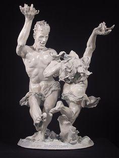 "Paul McKay - Eternal Stomp - 9.5""W x 11.5""D x 15""H - Sculpture"