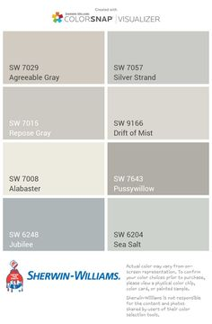 Ideas for kitchen paint colors greige repose gray Farmhouse Paint Colors, Kitchen Paint Colors, Bedroom Paint Colors, Interior Paint Colors, Paint Colors For Home, Wall Colors, Popular Paint Colors, Griege Paint Colors, Interior Painting Ideas