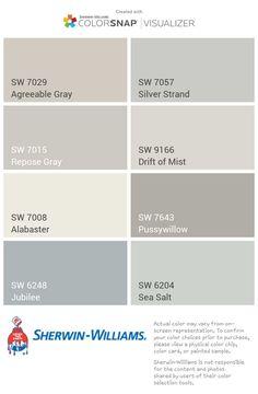 Ideas for kitchen paint colors greige repose gray Farmhouse Paint Colors, Kitchen Paint Colors, Bedroom Paint Colors, Interior Paint Colors, Paint Colors For Home, Wall Colors, Popular Paint Colors, Griege Paint Colors, Tuscan Paint Colors